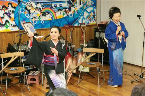日本舞踊にうっとり!